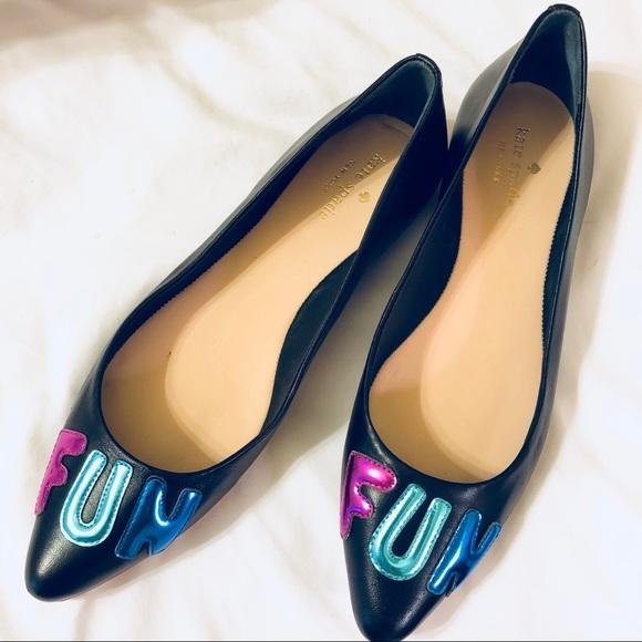 a3f884ab1 kate spade Shoes | New York Fun Flats | Poshmark